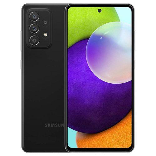 Samsung Galaxy A52 A525 LTE - 128GB 6GB Dual - Király fekete