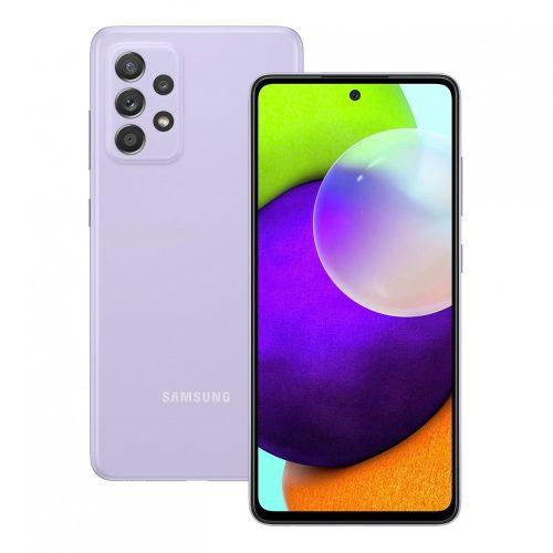 Samsung Galaxy A52 A525 LTE - 128GB 6GB Dual - Király lila