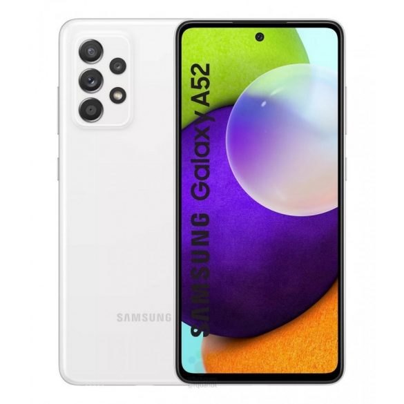 Samsung Galaxy A52 A526 5G - 128GB 6GB Dual - Király fehér
