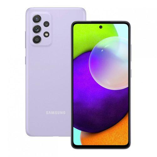 Samsung Galaxy A52 A526 5G - 128GB 6GB Dual - Király lila