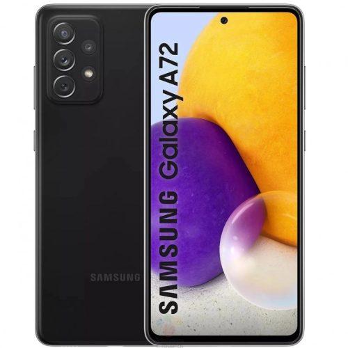 Samsung Galaxy A72 A725 LTE - 128GB 6GB Dual - Király fekete