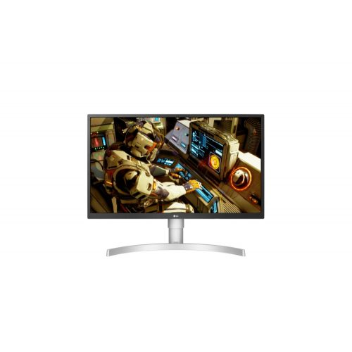 LG 27UL550-W 4K UHD IPS LED Monitor ergonomikus állvánnyal