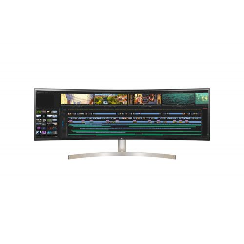 "LG 49WL95C-W 49"" 32:9 UltraWide 5K Dual QHD IPS ívelt LED Monitor HDR10"