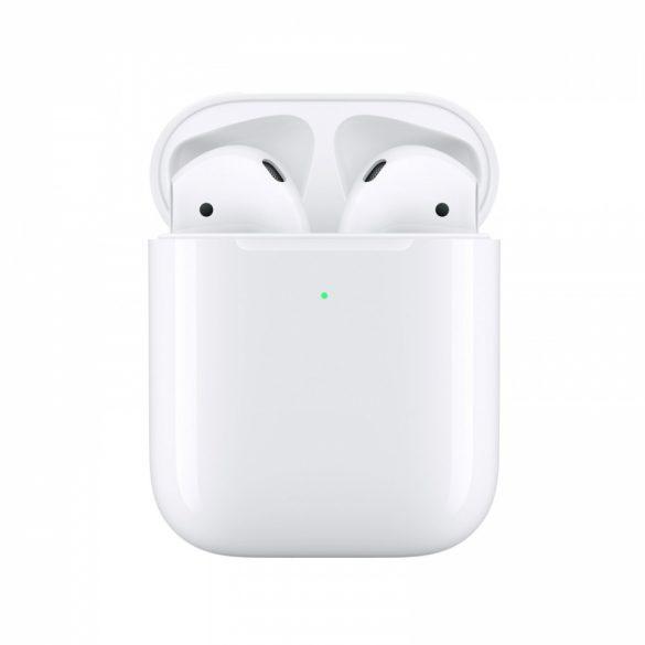 Apple Airpods 2  Vezeték nélküli töltőtokkal MRXJ2